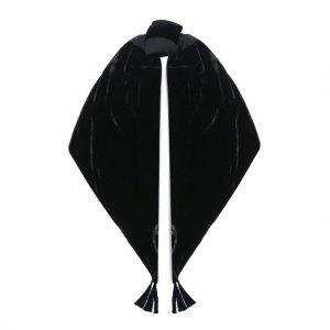 Шаль из вискозы и шелка Giorgio Armani. Цвет: чёрный