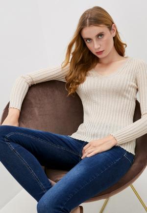 Пуловер Liu Jo. Цвет: бежевый