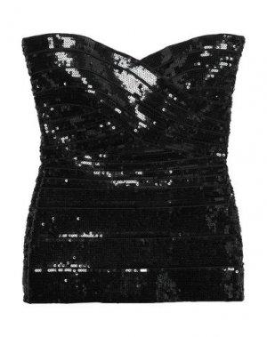 Бюстье HERVÉ LÉGER. Цвет: черный