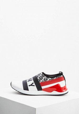 Слипоны DKNY. Цвет: разноцветный