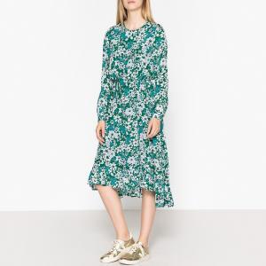 Платье с принтом REQUAKE ESSENTIEL ANTWERP. Цвет: цветочный рисунок