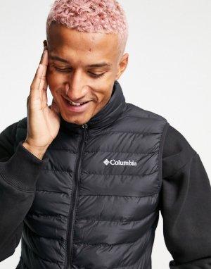 Черный жилет Columbia