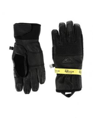 Перчатки QUIKSILVER. Цвет: черный