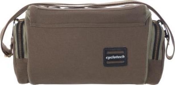 Велосипедная сумка Cyclotech. Цвет: коричневый