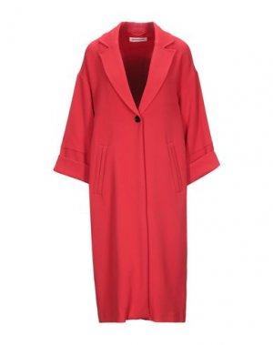 Легкое пальто CUSTOMMADE. Цвет: красный