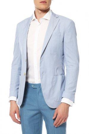 Пиджак Cantarelli. Цвет: голубой