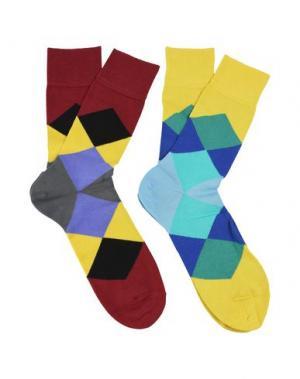 Короткие носки BURLINGTON. Цвет: желтый