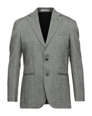 Пиджак 0909 FATTO IN ITALIA. Цвет: зеленый-милитари