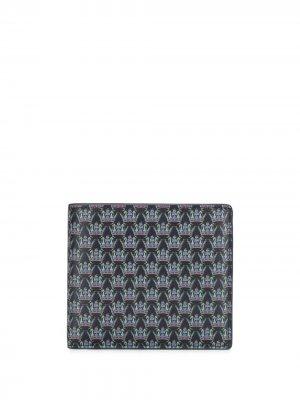 Бумажник с логотипом Gieves & Hawkes. Цвет: синий