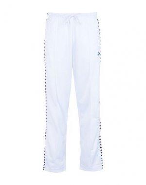 Повседневные брюки ARENA. Цвет: белый