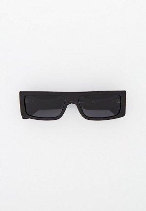 Очки солнцезащитные Matrix с поляризационными линзами. Цвет: черный