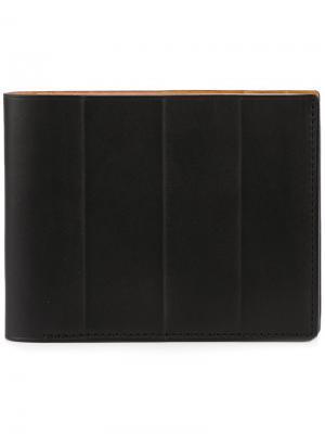 Бумажник Classify Isaac Reina. Цвет: чёрный