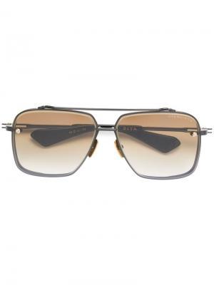 Солнцезащитные очки Mach Six Dita Eyewear. Цвет: черный
