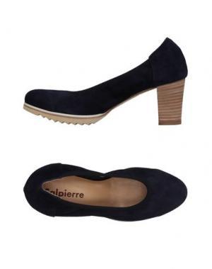 Туфли CALPIERRE. Цвет: темно-синий