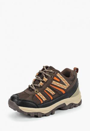 Ботинки трекинговые Beppi. Цвет: коричневый
