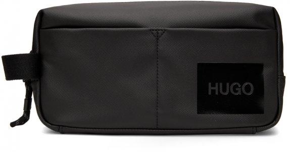 Black Quantum Wash Pouch Hugo. Цвет: 1 black