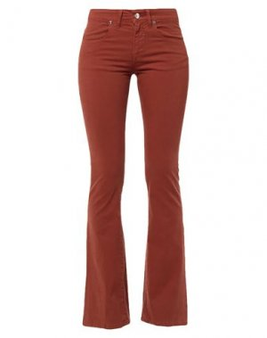 Повседневные брюки H2O ITALIA. Цвет: желто-коричневый