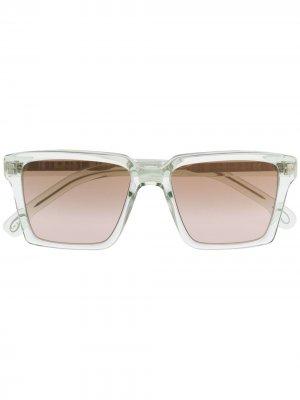 Солнцезащитные очки Austin в квадратной оправе Paul Smith. Цвет: белый