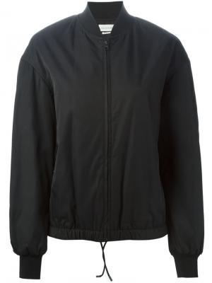 Классическая куртка-бомбер Isabel Marant Étoile. Цвет: чёрный