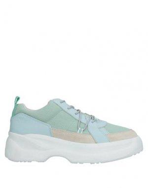 Кеды и кроссовки VAGABOND SHOEMAKERS. Цвет: светло-зеленый