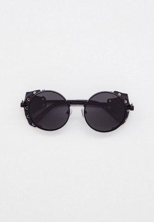 Очки солнцезащитные Thom Richard. Цвет: черный