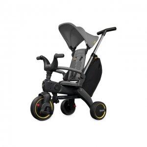 Складной трехколесный велосипед Doona Liki Trike S3 Simple Parenting. Цвет: серый