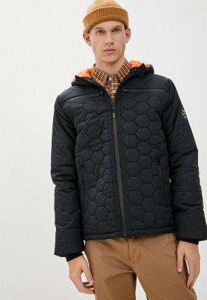 Куртка утепленная Indicode Jeans. Цвет: черный
