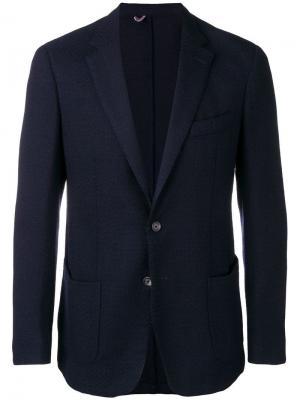 Приталенный пиджак Dell'oglio