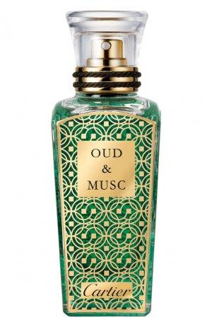 Духи Oud & Musc Fieur de Desert Cartier. Цвет: бесцветный