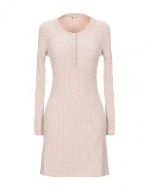 Короткое платье COLOMBO. Цвет: телесный
