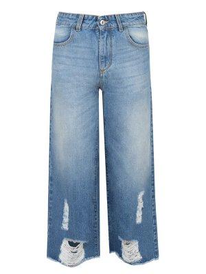 Широкие укороченные джинсы BISIBIGLIO