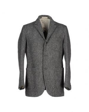 Пиджак HARRIS TWEED. Цвет: серый
