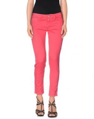 Джинсовые брюки-капри 40WEFT. Цвет: фуксия