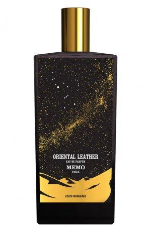 Парфюмерная вода Oriental Leather Memo. Цвет: бесцветный