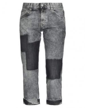 Джинсовые брюки CARE LABEL. Цвет: серый