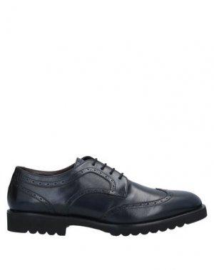 Обувь на шнурках ALDO BRUÉ. Цвет: темно-синий