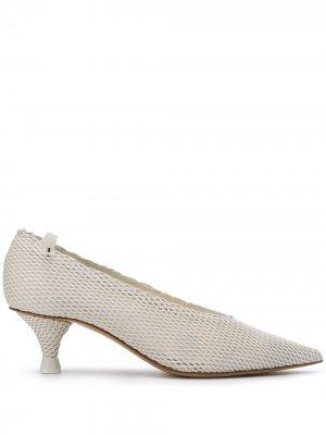 Туфли с заостренным носком Premiata. Цвет: белый