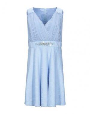 Короткое платье 22 MAGGIO by MARIA GRAZIA SEVERI. Цвет: пастельно-синий