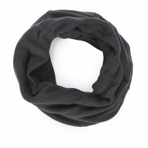 Heavyweight Merino Wool Multifunctional Neckwarmer Buff. Цвет: черный