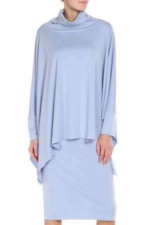 Костюм: туника, платье Adzhedo. Цвет: голубой