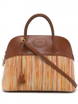 Сумка-тоут Bolide 35 2002-го года Hermès. Цвет: коричневый