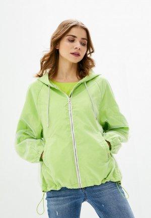 Ветровка Liu Jo Sport. Цвет: зеленый