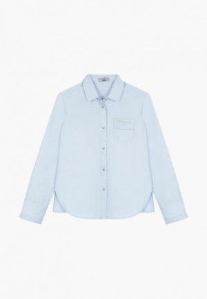 Рубашка Bell Bimbo. Цвет: голубой