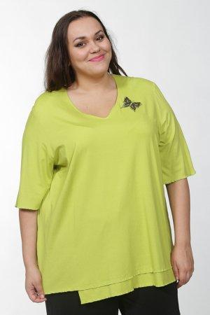 Майка CHALOU. Цвет: зеленый