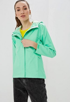 Ветровка Helly Hansen W SEVEN J JACKET. Цвет: зеленый
