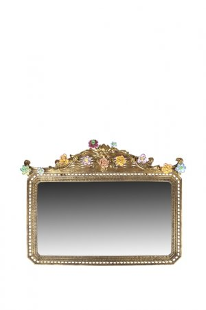 Зеркало 79x60x4 см ГЛАСАР. Цвет: бронзовый