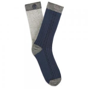 Носки 2 Pair Crew Socks Timberland. Цвет: темно-синий
