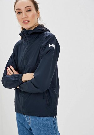 Ветровка Helly Hansen W SKYE WIND JACKET. Цвет: синий