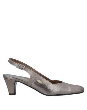 Туфли ELATA. Цвет: серый