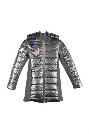 Куртка Talvi. Цвет: стальной